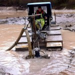 Silt Pumping at The Eden Project